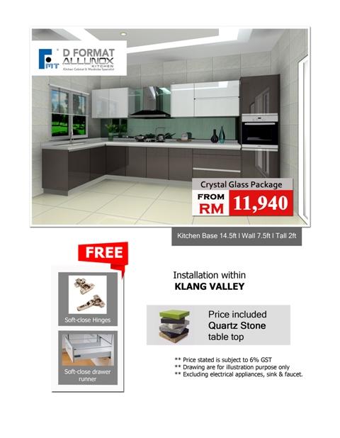 Kitchen Cabinet Malaysia Aluminium Kitchen Wardrobe Eco Green